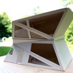 Ferienhaus für einen realen Ort  Modellbau im Maßstab 1:50