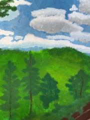 Landschaftsmalerei - Amelie