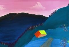 Landschaftsmalerei - Luna