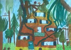 Eine Villa im Dschungel