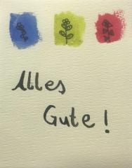 Positive Postkartengrüße