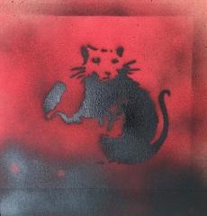 Stencils nach Banksy