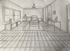 Die Fluchtpunktperspektive in der Zeichnung